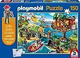 Schmidt Spiele 56164 - Playmobil, Baumhaus, 150 Teile, Klassische Puzzle, inklusive Figur