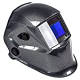 awm WH02C Automatik Schweißhelm Schweißschirm Carbon Schweißmaske Solar Schweißbrille