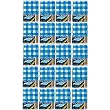 20x Party-Tischdecke Blau Weiß Bierzelt Garnitur Garten Bierbank Biertisch Fest