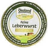 ÖKOLAND Leberwurst fein, 10er Pack (10 x 50 g)