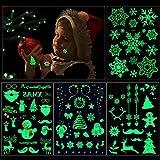 Weihnachts kindertattoos set, Howaf 82 x im Dunkeln leuchten Temporäre Tattoos für Mädchen Jungen Spielen Kinder Weihnachts Geschenktüten Weihnachts party Kindergeburtstag Mitgebsel