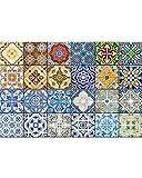 Mi Alma Variationsliste im C-Stil 10 x 10 cm 4x4 Inch Küchenfliese Decal-Mix HA4