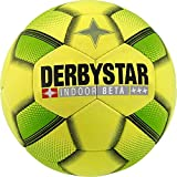 Derbystar Erwachsene Indoor Beta Hallen Fußball, Gelb Grün, 5