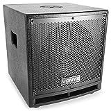 Vonyx VX1000BT • 2.2 Aktivlautsprecher-Set • Boxensystem • 1000 W • 2 x 10-Subwoofer • 2 x 2,5'-Mitteltöner • 1 x 2,5'-Hochtöner • Bluetooth • USB • SD • AUX • Mikrofon • Fernbedienung • schwarz