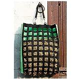Gitter Heusack, Futtersack, Heutasche, Heunetz, Sack für Heu groß in zwei Farben, Farbe:gruen