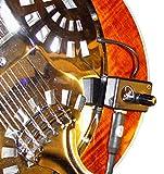 ROUND NECK Resonatorgitarre PICKUP mit flexiblen MICRO- Schwanenhals von Myers Pickups