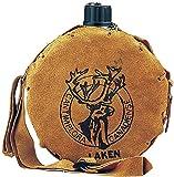 Laken Alu-Feldflasche mit Lederhülle Canadiense 1,0l 601