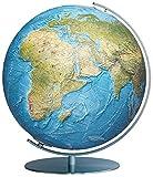 Columbus DUORAMA Leuchtglobus, 34 cm: OID-Code, handkaschiertes Kartenbild auf einer Acrylglaskugel, Armatur aus Edelstahl matt (Professional Line by ... anspruchsvoll und von bleibendem Wert)