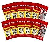 10er Set Wärmepflaster Wärmekissen Schmerzpflaster Wärmepads Rückenwärmer bis 8h, Bundle mit Chip von M&H-24