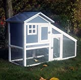 BUNNY ARK - Hybrid - Doppel Tier Kaninchenstall Meerschweinchen Haus Cage Pen Startseite (RH10)