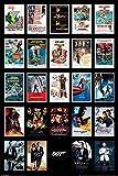 James Bond 007 - Sammelposter Movie Posters Filmposter Kino - 61x91,5 cm + 1 Ü-Poster der Grösse 61x91,5cm