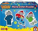 Schmidt Spiele 56180 Benjamin Blümchen, Meine ersten Puzzles Konturpuzzles im Pappkoffer, 5 x 3