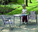 BEST 35210020 Kinder-Camping-Klappsessel, blau