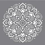Rayher Hobby RAYHER Schablone Mandala, Diverse, Grau, 3.3 x 3.1 x 0.02 cm