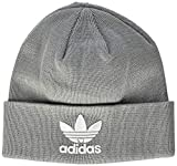 adidas Erwachsene Trefoil Mütze, Solid Grey, OSFM