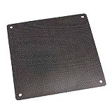KUNSE PVC Black Pc Cooler Fan Dust Collector Filter Dustproof Case Cover Computer Mesh Austauschbar