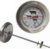 Impuls Thermometer / Räucherthermometer für Räucherofen / Räuchertonne / Räucherschrank