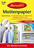 Aeroxon Mottenpapier 2x10 Blatt, 6 er Pack