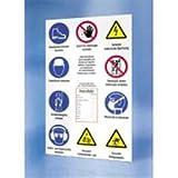 Sicherheitsaushang: Baustellen-Sicherheitsschild 'Jeder Beschäftigte dieser Baustelle...' Material: PVC-Platte geschäumt Stärke: 5 mm Format: 120 x 75cm (HxB)