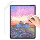 seenda Paper Matte Schutzfolie Kompatibel mit iPad Pro 12,9 Zoll(2018&2020 Modell), Displayschutzfolie Schreiben, Zeichnen wie auf Paper, Weich PET Folie Anti-Reflexion und Blendfrei
