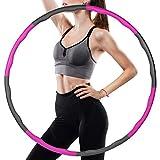 Luvsex Hula Hoop Reifen, Hoola Hoop für Erwachsene & Kinder zur Gewichtsabnahme und Massage, EIN 6-8-Teiliger Abnehmbarer Hula Hoop Reifen für Fitness/Training/Büro oder Bauchmuskelkonturen