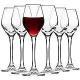 Krosno Grappa-gläser Schnaps-gläser Likör-gläser Glas | 6-teiliges Set | 60 ml | Splendour Kollektion | Perfekt für Zuhause, Restaurants und für Partys und Veranstaltungen | Spülmaschinenfest