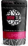 WOW TEA SlimFit Tee - Natürlicher Diät Tee zur Körperformung | Taillen-A | Grüner Tee-Komplex | Diät Tee und Slim Tee Fettverbennung Komplex | 150g, Made in EU
