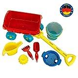 Theo Klein 2002 Aqua Action Bollerwagen mit Eimer Set, Spielzeug