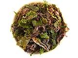 Vier-Farben-Mischung Meeresgemüse aus Wildernte | Algen-Mix aus Dulse, Spirulina, Kombu und Nori - Bio (250g)