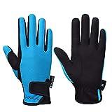 FitsT4 Grip Handschuhe Kinder Reithandschuhe Winterhandschuhe Kinder Jungen 5-14 Jahre für Reitsport, Radfahren, Gartenarbeit, in 3 Farben