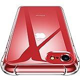 CANSHN iPhone 7 Hülle, iPhone 8 Hülle, Hochwertig Transparent Weiche Durchsichtig Dünn Handyhülle mit TPU Stoßfest Fallschutz Bumper Case Cover für Apple iPhone 7 & iPhone 8 4.7'' - Klar