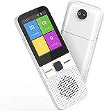 Bcamelys Übersetzer Sprachübersetzer, Sprachübersetzer Smart Intelligentes Zwei-Wege WLAN Hotspot Offline-Sofort-2,4-Zoll-Touchscreen-Unterstützung 83 Sprachen Pocket Voice