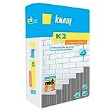 KNAUF K2 25kg Flex- Fliesenkleber flexibel Flexkleber Kleber Fliesen Bau Flexmörtel Klinkerkleber