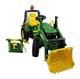 Rolly Toys rollyFarmtrac John Deere 7930 (Rundumleuchte, Frontlader, Seilwinde, Kinder 3 - 8 Jahre, Luftreifen) 710362