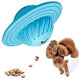 Onebarleycorn - Hundeball Snackball aus Naturkautschuk Hunde-Aktivitätsspielzeug Hundespielzeug Ball aus Gummi IQ Interaktive Lebensmittelspender für mittelgroße und große Hunde
