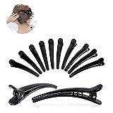 12 Stück Haarspange Haar Klammer Combi-Clip Karte Hairclips Abteilklammern Hair-Clips Combi aus Kunststoff (12cm)