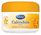 Bübchen Calendula Gesichtspflege, mit BIO-Calendula zum Schutz empfindlicher Babyhaut, 1er Pack (1 x 75ml)
