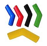 WKBY Motorrad Schalthebel Schuh Schutz Gummi Schalthebel Socken Stiefel Schuhschutz Schalthebelschutz, 5Colors