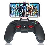 Controller für Android Wireless, Maegoo Bluetooth Mobile Game Handy Controller Gamepad Joystick mit Einziehbarer Halterung Kompatibel für Android Handy Phone Tablet Smartphone