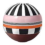 Villeroy & Boch - Iconic La Boule Memphis, Geschirr-Designobjekt mit aufregender Oberfläche, Premium Porzellan, spülmaschinengeeignet, bunt