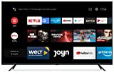 Xiaomi Mi Smart TV 4S 65' (4K Ultra HD, Triple Tuner, Android TV 9.0, Fernbedienung mit Mikrofon & Netflix)