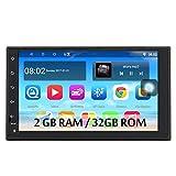 Panlelo S10P 2GB RAM 32GB ROM Autoradio Android 8.1 FM/AM/RDS Radio 2 din 7 Zoll Touchscreen GPS Navigationsgerät OBD Bluetooth WiFi Lenkradsteuerung Armaturenbrett-Einbau-Videogeräte Rückfahrkamera