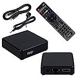 TVIP S-Box v.530 4K UHD IPTV HEVC Linux Quad Core Multimedia Stalker Interner IP TV Streamer 1GB RAM + 8GB Flash, MicroSD Card, EXT.IR