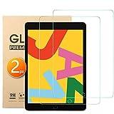 Audamp 2 Stück Displayschutz für iPad 10,2 2019 PanzerglasSchutzfolie für iPad 10,2 iPad 7 2019 Anti-Kratzen,9H Härte