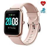 LIFEBEE Smartwatch, Fitness Armband Fitness Tracker Voller Touch Screen Smart Watch IP68 Wasserdicht Fitness Uhr mit Pulsuhren Schrittzähler Damen Herren Armbanduhr Sportuhr für iOS Android