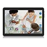 Tablet 10 Zoll Android 8.1, 1GB+16GB, 1.3 GHz Quad Core, 3G entsperrt Phablet mit Zwei SIM-Kartensteckplätzen, 2MP+5MP Dual-Kamera, WiFi, GPS, Bluetooth, Google Play Store, Netflix,YouTube