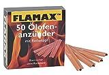 Flamax Ölofen-Schnellanzünder 50 Stück