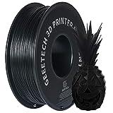 GEEETECH ABS Filament 1.75mm Schwarz, Drucker 3d Filaments 1KG 1 Spool