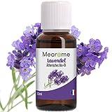 Lavendelöl BIO⎟Ätherisches Öl 100% Naturrein 30 ml⎟Feiner Lavendel aus Frankreich⎟Aroma Massageöl Schlaf Entspannung Naturkosmetik Duftöl Diffuser Aromatherapie Haut Vegan⎟Bien-Être Mearome