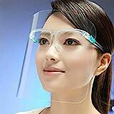 Fun Trading Face Shield 2er Set - Gesichtsschutz mit Brille - Gesichtsvisier - Visier